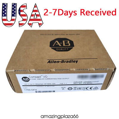 New Sealed Allen Bradley 1769-of4 Compactlogix 4pt Analog Output Module Usa Sell