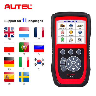 Autel MaxiCheck Pro OBD2 Auto Diagnostic Tool Scanner EPB Oil Reset ABS Bleeding