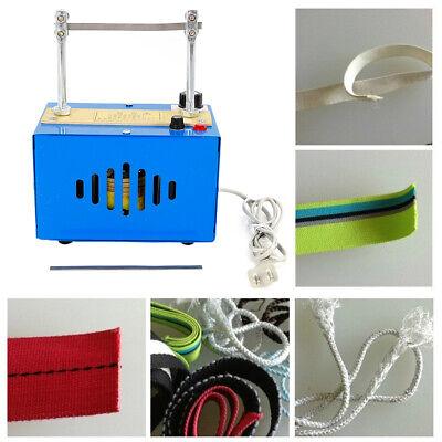 110v Ribbon Rope Foam Cutter Electric Heating Knife Machine Manual Placed Tool