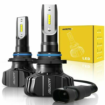 2X AUXITO 9006 HB4 LED Headlight Kit Low Beam Super Bright White 6000K Bulb Lamp