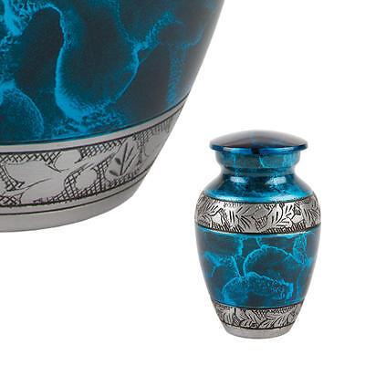 Perfect Memorials Turquoise Dream Keepsake Cremation Urn