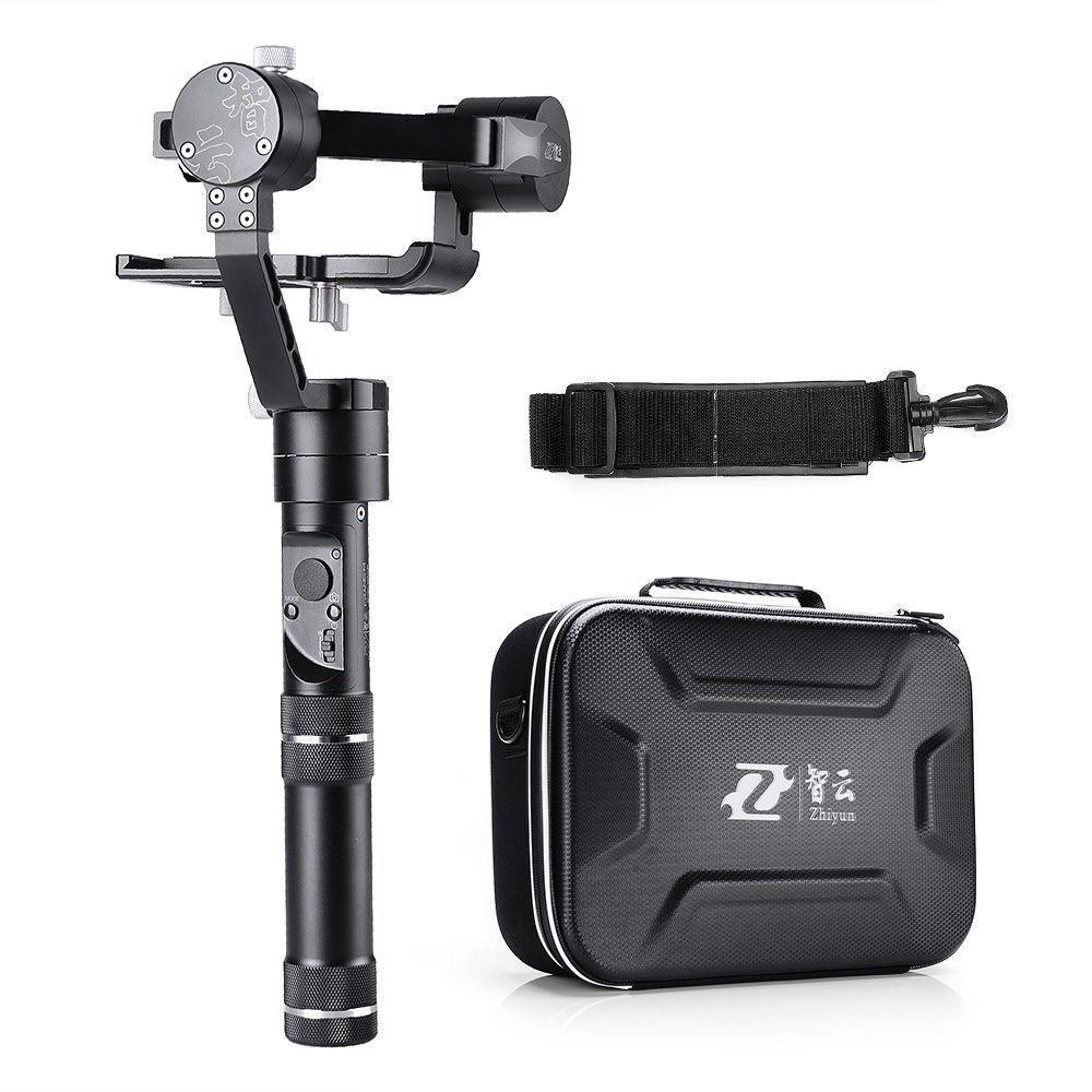 Купить Zhiyun - Zhiyun Crane-M 3Axis Handheld Gimbal Stabilizer Mirrorless DSLR Camera