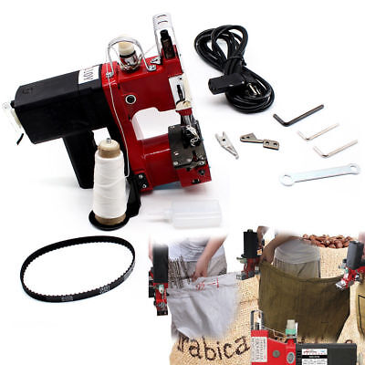 Industry Electric Bag Sewing Machine Sealing Sack Stitching Closer 15000rpm Fast