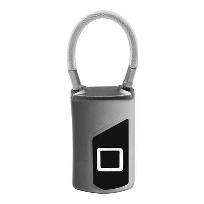 Fingerprint Door Lock Smart Keyless Biometric Waterproof Anti-theft Padlock