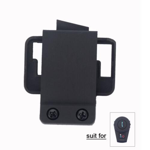 Helmet Clamp Mount for FDC 500m Motorcycle Intercom Bluetooth Communication Box