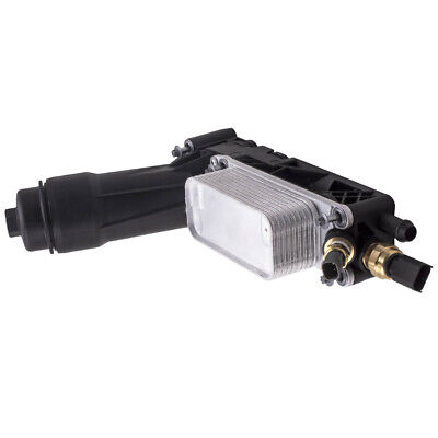 New Engine Oil Cooler Filter Housing 2 Sensors For Dodge Jeep Chrysler 5184294AE