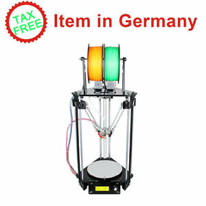 Duty-free-Auto-Level-Kossel-Delta-Rostock-G2s-doble-extrusora-3D-Impresoras