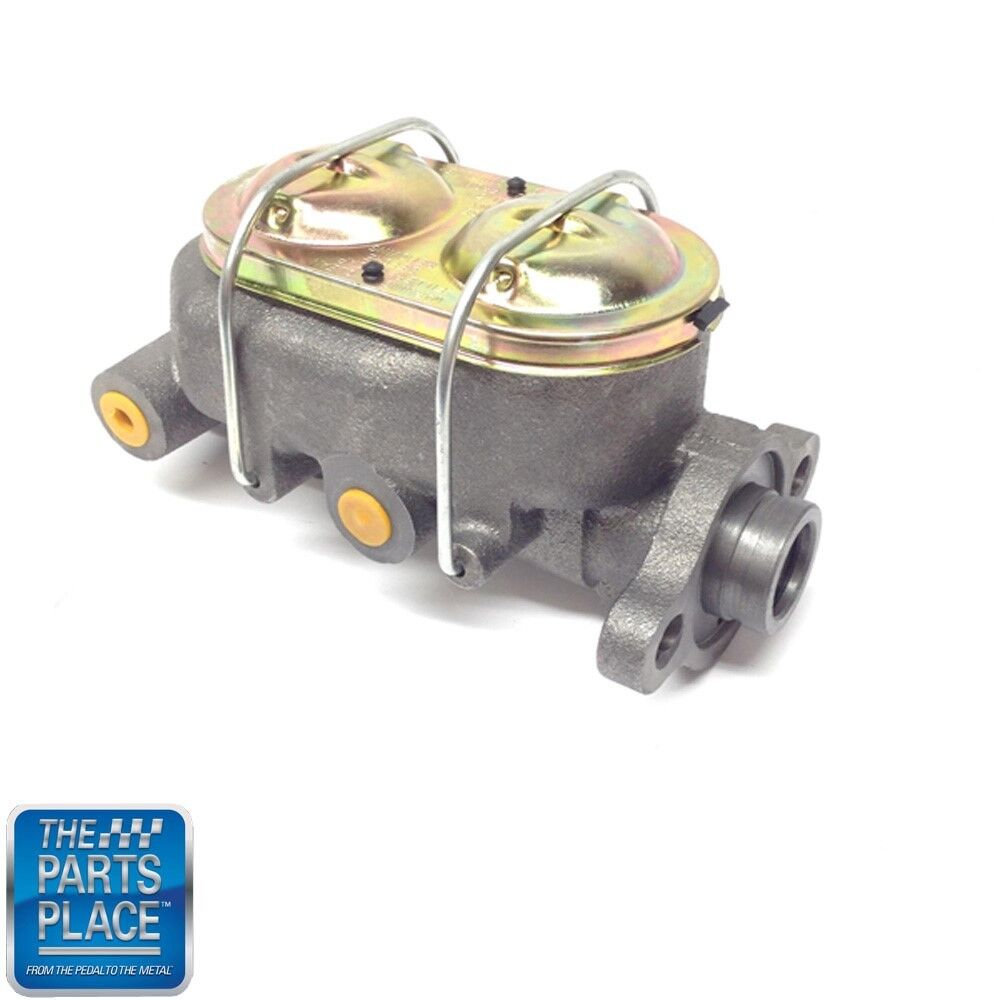 67-69 GM Cars Master Cylinder With Disc Brakes Barrel Style With Dual Bale Wires