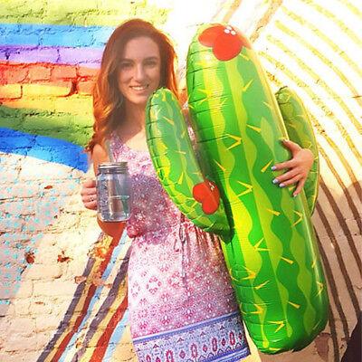 Large Cactus Helium Foil Balloon Birthday Party Decor Child Toy Take Photo Props - Cactus Balloon