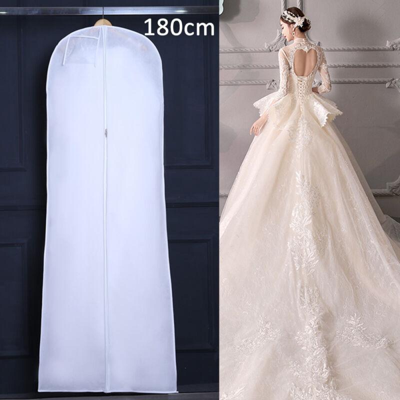 180cm Hochzeit Kleidersack Kleiderschutzhülle Kleiderhülle Brautkleidhülle DE