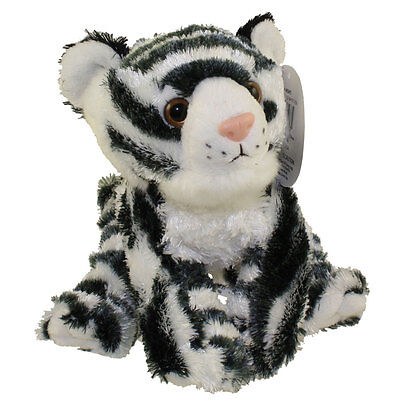 Adventure Planet Plush - Mini Softimal - WHITE TIGER (10 inch) - New Stuffed Toy - White Tiger Plush