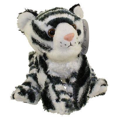 Adventure Planet Plush - Mini Softimal - WHITE TIGER (10 inch) - New Stuffed Toy - White Tiger Plush