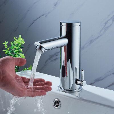 Automatisch Wasserhahn Bad Armatur Waschtisch Sensorarmatur mit Infrarot-Sensor (Automatische Wasserhahn)
