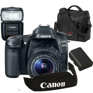Canon EOS 80D Kit with 18-55 STM +  Bundle Special