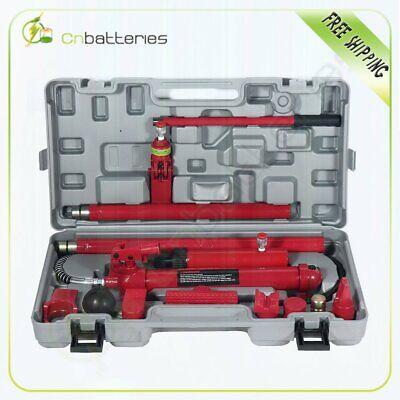 10 Ton Porta Power Hydraulic Jack Body Frame Repair Kit Tools Red High Quantity 10 Ton Hydraulic Jack