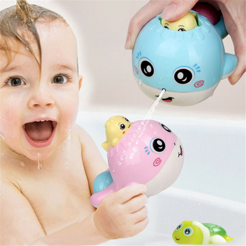 Squirt Watering Drop Pot Baby Bath Toy Elephant Sprinkler Shower Whale Spraying