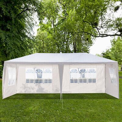 4 Side Wall 10x20'' Outdoor Canopy Party Wedding BBQ Tent Patio Garden Gazebo