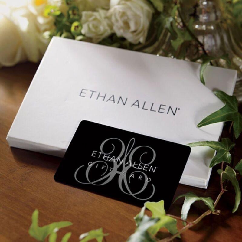 Ethan Allen Gift card $250