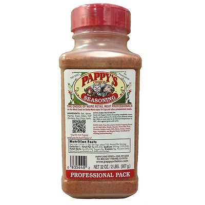 Pappys Choice Seasoning 32 Oz Professional Pack FREE SHIPPIN