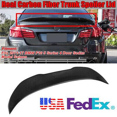 Car Trunk Spoiler Wing For BMW F10 5 Series 520i 528i 535i 535d 550i M5 2011-17
