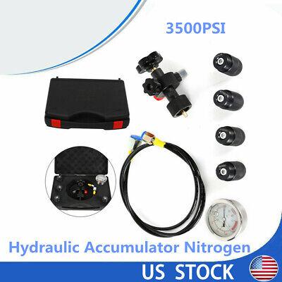 Hydraulic Test Kit Hydraulic Nitrogen Accumulator Charging Filling Pressure Test