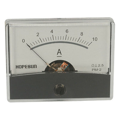 Velleman Aim6010a Analog Current Panel Meter 10a Dc 60 X 47 Mm