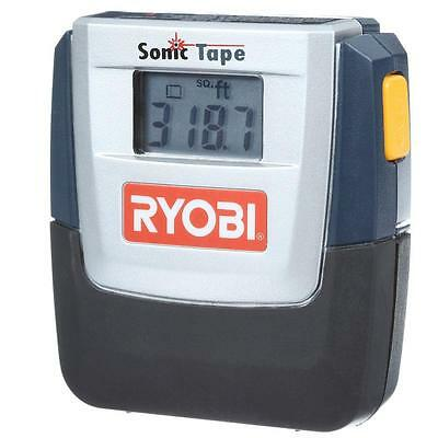 30 Ft. Sonic Distance Laser Tape Measure With Pointer Hand Tool Ryobi E49st01