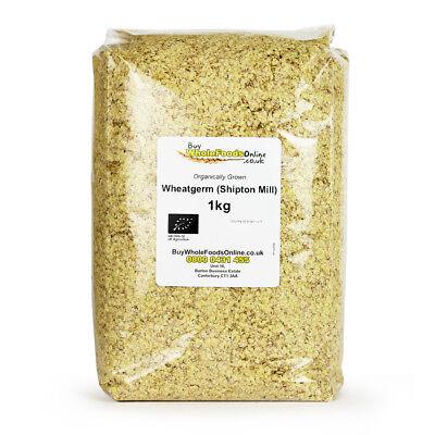 Organic Wheatgerm (Shipton Mill) 1kg   Buy Whole Foods Online   Free UK Mainland