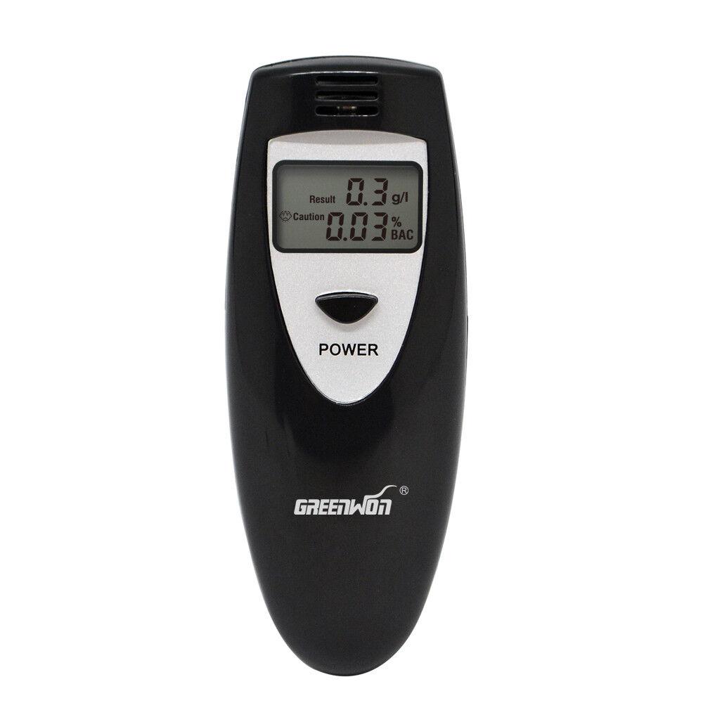 Breath Tester Analyzer Pocket Digital Alcohol Breathalyzer Detector Test Testing