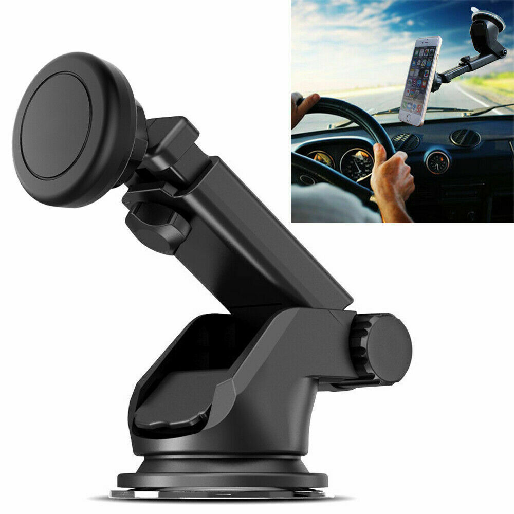 Universal Magnetic Car Mount Holder Dash Windshield Suction Cup For Cell Phone Cell Phone Accessories
