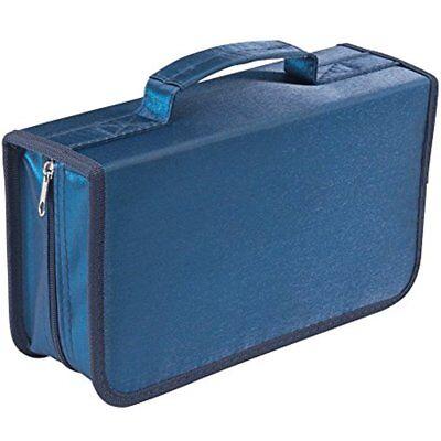 128 Capacity CD/DVD Case Wallet, Storage,holder,booklet By RekukosBlue