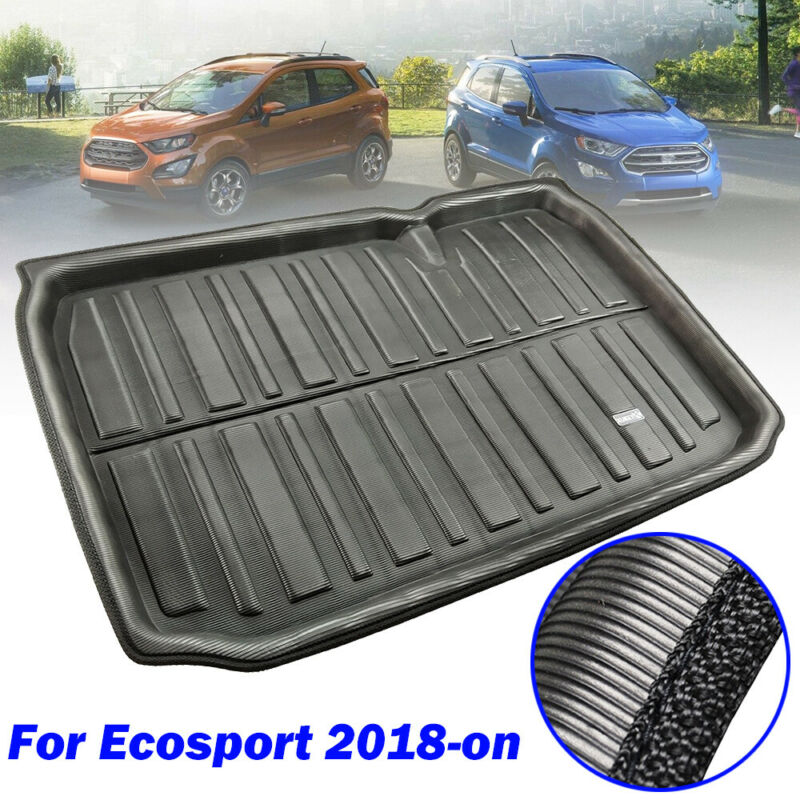 XUKEY For Q5 SQ5 FY 2018 2019 Tailored Boot Liner Cargo Tray Rear Trunk Liner Floor Mat Sheet Carpet Luggage Tray Waterproof