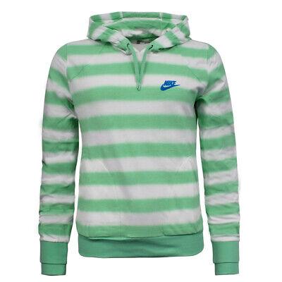Nike Womens Stripe Hoodie Casual Sweatshirt Jumper 272513 353