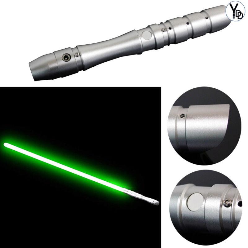 YDD Light Saber Sword Fx Force Hilt Green Blade Dueling Green Cosplay Toy Jedi