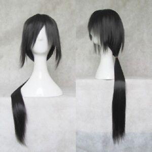 Hot ! New Uchiha Itachi COSPLAY long straight black wig Free shipping wigs
