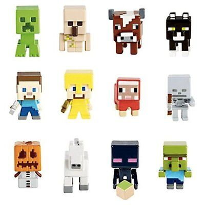 NEW SEALED MINECRAFT MINI-FIGURES FROM SERIES 1, 2, & 9 - PICK YOUR FAVORITE!