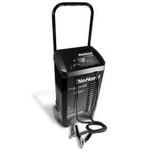 DieHard 200 Amp Wheeled Manual Battery Charger & Engine Starter