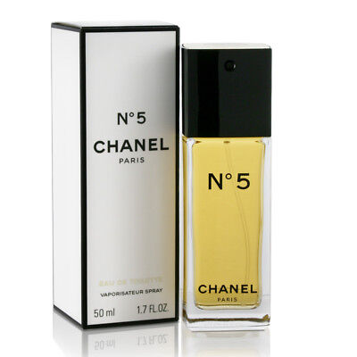 CHANEL # 5 Perfume 1.7oz / 50ml EDT Spray NEW IN SEALED BOX