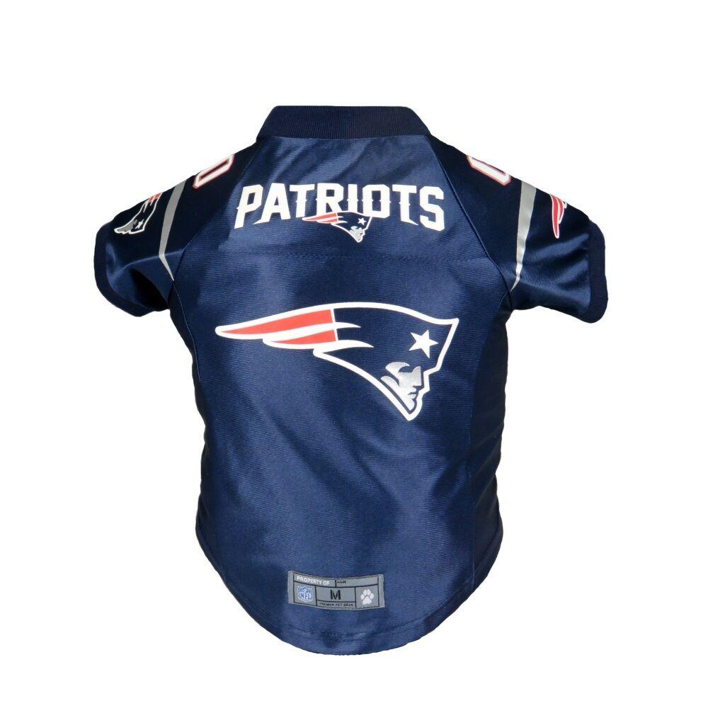 493c79926 New England Patriots Pet Dog Football Jersey Alt Navy MEDIUM NFL Pet Gear