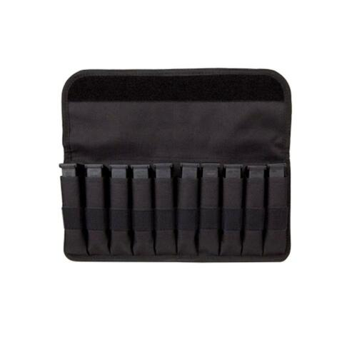Bastion Magazine Pouch Organizer With Sleeves Covered Holds 10 Mag for Glock