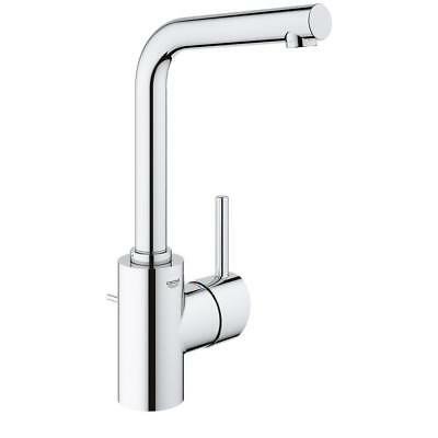 GROHE Concetto Single Hole Single-Handle Bathroom Faucet in StarLight Chrome (Grohe Concetto Starlight)
