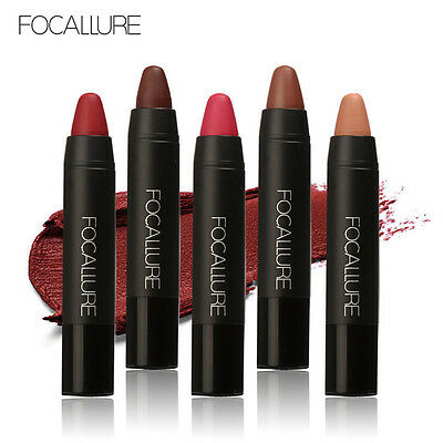12 Colors FOCALLURE Matte Lipstick Pen Waterproof Lasting Lip Gloss Cosmetic New (Lipstick Pens)