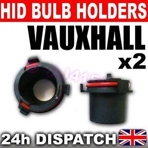 2x-XENON-HID-H7-BULB-HOLDERS-Vauxhall-Opel-Astra-G