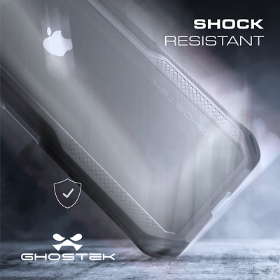 For iPhone XS Max Case | Ghostek CLOAK Slim Clear Hybrid TPU Shockproof Cover