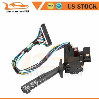 Turn Signal Windshield Wiper Headlight Switch for 1995-2000 Chevy K2500 Truck