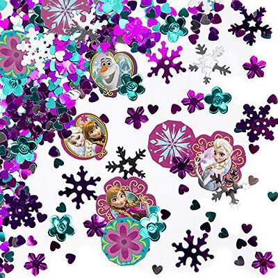 Disney FROZEN Table Confetti TRIPLE PACK Party Decorating Ideas Decorations](Disney Birthday Party Ideas)