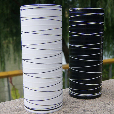 Simple Modern Black and white lines Flower Vase Flower arrangement Office Decor