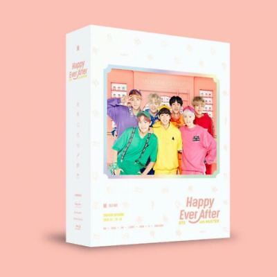 BTS 4th Muster Happy Ever After BUL-RAY Ver 3Disc+Photobook+Sticker+Track Number