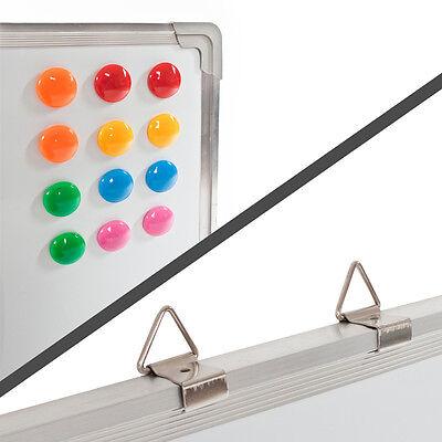 Whiteboard Magnettafel Wandtafel 40 x 30 cm + 12 Magnete Präsentationstafel neu