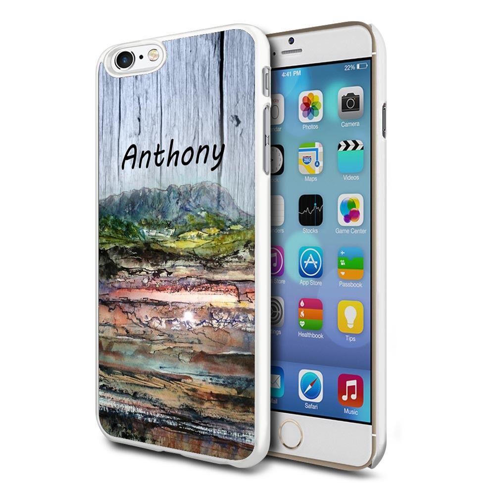 in legno esterno effetto 67 - personalizzata Custodia cover telefono per